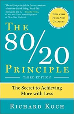 The 80/ 20 Principle