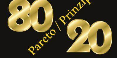 Pareto Principle 80:20 rule