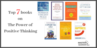 Top 7 books on the power of positive thinking