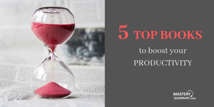 Top 5 books to boost your productivity