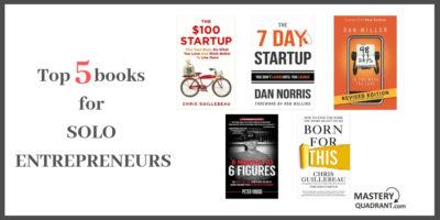 Top 5 Books Solo Entrepreneurs