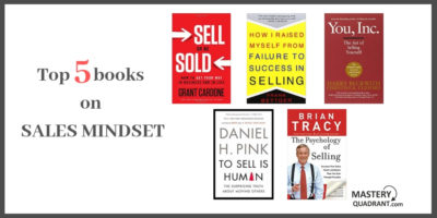 Top 5 books sales mindset
