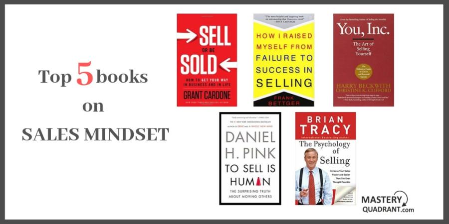 Top 5 books sales mindset