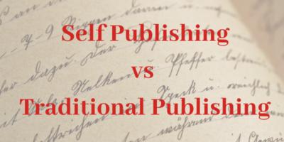 Blog Self Publishing vs Traditional Publishing